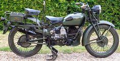 Ferro Velho Motos Antigas : Velhas de Guerra - As motos italianas na Segunda Guerra - Guzzi Alce