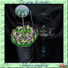Cubo metal Lolli Pops mojito y gin-tonic