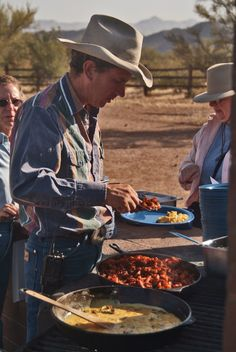 Cowboy Dinner at the White Stallion Ranch in #Arizona. Dude Ranchers Association Member