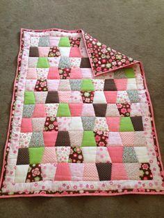 Tumbler  baby quilt