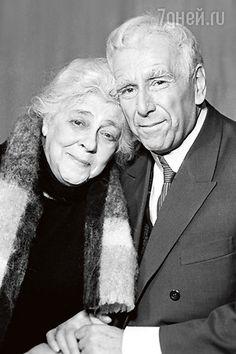 Ростислав Плятт и Фаина Раневская в спектакле «Дальше - тишина». 1969 г.