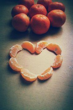 Mandarin heart