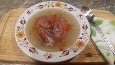 Kocsonya -- Mindmegette.hu Oatmeal, Cooking Recipes, Pudding, Breakfast, Desserts, Foods, Drinks, Pork, Meat
