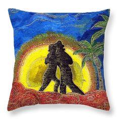 Beach Dance Throw Pillow x Pillow Sale, Great Artists, Batman, Tapestry, Throw Pillows, Dance, Art Prints, Beach, Poster