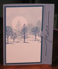 Lovely as a Tree Christmas card 2006 by AudreyAnn - Cards and Paper Crafts at Splitcoaststampers