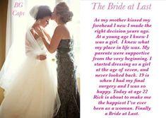 Prom Dresses, Formal Dresses, Wedding Dresses, Tg Captions, One Shoulder Wedding Dress, Thats Not My, Dressing, Bride, Fashion