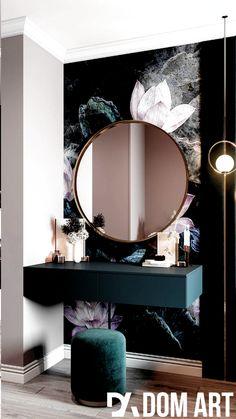 Home Room Design, Bathroom Interior Design, House Design, Ikea Interior, Salon Interior Design, Foyer Design, Beauty Salon Interior, Apartment Interior, Luxury Interior