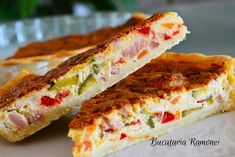 Quiche Lorraine, 200 Calories, Sandwiches, Food And Drink, Pizza, Cooking, Recipes, Pies, Kitchen