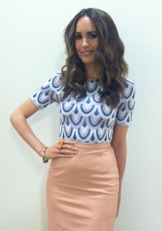 REPIN if you're obsessed with Louise Roe's look from Thursday's #StylePop!