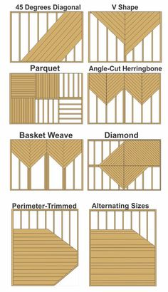 decking patterns contractor in ma