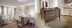 decoração-de-quarto-de-bebe-com-berço-de-madeira-e-móveis-branco