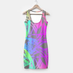 Bright Colorful Abstract Print