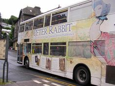 Peter Rabbit was painted on the bus (by asmium13)