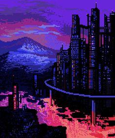 Pixel Art Time: pixelMewr - Follow Artist on DeviantArt // Tumblr // RedBubble (for prints) More Pixel Art