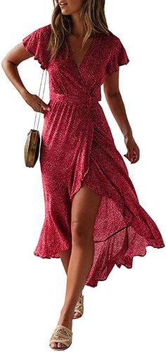 Spread the loveSommer Strandkleider Elegante Strandkleider aus weichem Baumwolle Material. Sind luftig und lässig und haben einem hohen Tragekomfort. Die kannst du gleichermaßen zum Strand oder zu einer Party tragen. … Beautiful Summer Dresses, Casual Summer Dresses, Long Dresses, Simple Dresses, Summer Outfits, Wrap Dresses, Bride Dresses, Dress Casual, Dresses For Women