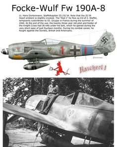 Ww2 Aircraft, Fighter Aircraft, Military Aircraft, Luftwaffe, Fighter Pilot, Fighter Jets, Focke Wulf 190, Photo Avion, Aircraft Painting