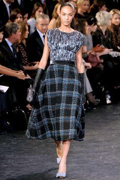 Louis Vuitton Fall 2010 Ready-to-Wear Fashion Show - Joan Smalls (IMG)