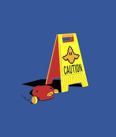 Steer clear of the banana peels, Mario Kart junkies.  Classic t-shirts and hoodies.