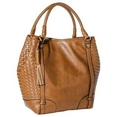 Merona® Interweave Hobo Handbag - Brown