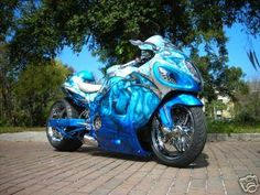 He thinks this is going to happen. Hyabusa Motorcycle, Suzuki Motorcycle, Motorcycle Design, Street Motorcycles, Street Bikes, Custom Motorcycles, Custom Hayabusa, Crotch Rockets, Custom Sport Bikes