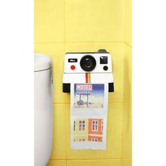 Dévidoir de papier toilette Polaroïd - Inv'eat Auriez vous l'âme d'un paparazzi?