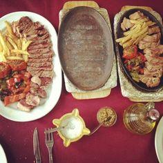 #Carn a la pedra de @Restaurante Casa Roque #Morella
