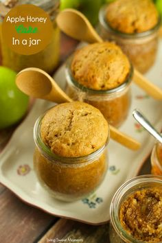 Apple Honey Cake In A Jar Recipe on Yummly. @yummly #recipe