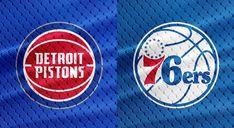 NBA Preseasons and Regular Seasons Detroit Pistons vs Philadelphia NBA Preseasons October October 15, Detroit Pistons, Chicago Cubs Logo, Philadelphia, Nba, How To Memorize Things, Finding Yourself, Seasons, Replay