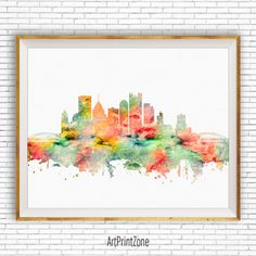 Pittsburgh Art, Pittsburgh Skyline, Pittsburgh Pennsylvania, Office Decor, City Skyline Prints, Office Poster, Cityscape Art, ArtPrintZone #ArtPrint #PittsburghPrint #OfficeDecor #CitySkylinePrints #PittsburghSkyline