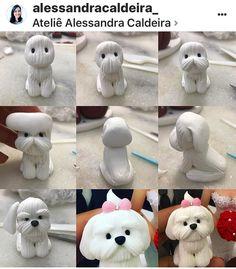 Polymer Clay Figures, Polymer Clay Animals, Cute Polymer Clay, Cute Clay, Polymer Clay Projects, Polymer Clay Charms, Clay Crafts, Clay Art, Paper Clay