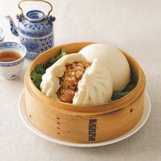 横浜中華街の高級中華料理店・華正樓の看板点心「肉まん」「あんまん」。評判のおいしさをお楽しみいただけます。
