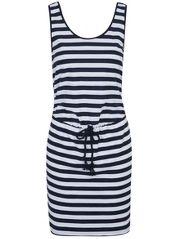 Stripe Tie Front Dress