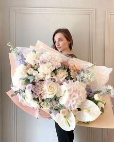 Beautiful Bouquet Of Flowers, Beautiful Flower Arrangements, Floral Arrangements, Beautiful Flowers, Wedding Flowers, Deco Floral, Arte Floral, Floral Design, Luxury Flowers