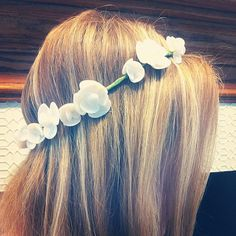 Seashell Flower Crown & headband