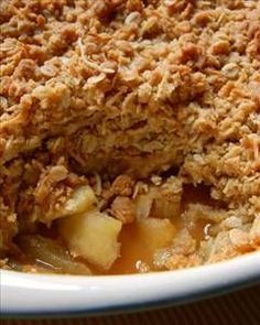 Apple Crisp - 5 Weight Watcher Points (Sounds Perfect for the holidays!)