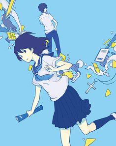 東京創元社『眼鏡屋は消えた』(著:山田彩人) 装画 I drewthe coverillustrationfor the novel byAyato Yamada, published byTokyo Sogenshapublishing.