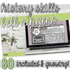 This resource includes over 80 skill-based activities (mini-lessons, bell ringers, warm-ups, bell work, start-nows, early-finishers, enrichment work) focusing on historical thinking skills (simple review activities and more complex activities are included). Most activities incorporate primary sources such as maps, photos, art, quotes, and more. Links to videos and supplementary resources are also included in this resource. Tulsa Race Riot, Primary And Secondary Sources, Middle School, High School, Bell Work, Bell Ringers, History Class, Thinking Skills, Educational Videos