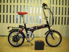 Atala folding bike conversion - 8fun bafang kit + ping battery 36v - folding ebike