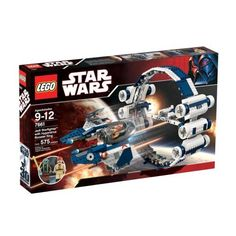"""LEGO Star Wars Jedi Starfighter With Hyperdrive Booster Ring. Looking for great deals on """"LEGO Star Wars Jedi Starfighter With Hyperdrive Booster Ring""""? Compare prices from the top online toy retailers. Save big when buying your favorite LEGO sets. Star Wars Set, Star Wars Toys, Lego Star Wars, Lego Jedi, Lego War, Star Wars Starfighter, Lego Party Decorations, Modele Lego, Best Lego Sets"""