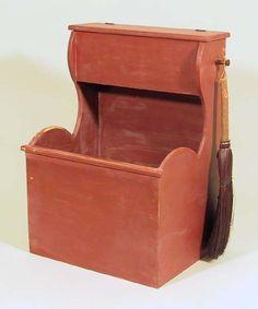 Pleasant Hill Shaker Firewood Box