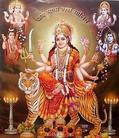 233 Best Jai Durga Maa For Watsapp photos by lakshitaaggarwal Maa Durga Photo, Maa Durga Image, Durga Kali, Shiva, Maa Kali Images, Durga Images, Lakshmi Images, Krishna Images, Navratri Wishes