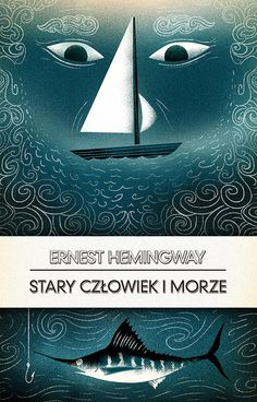 Cat Finnie, The Old Man and the Sea - Polish Book Cover
