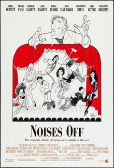 noises off poster Metal Sign Wall Art 8in x 12in