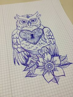 Warrior Owl by rcaldwell by Design-By-Humans.deviantart.com on ...