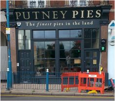 Putney Pies previously on Upper Richmond Road have recently opened at 2 Putney High Street, close to Putney Bridge. Having spent lots of time and money in a complete refurbishment they claim to offer the finest pies in the land.   However, they offer more than just pies serving traditional British brunches, and lunch dishes all freshly prepared from the finest local ingredients. They also have a wide range of British beers and cocktails, and open late at the weekend.