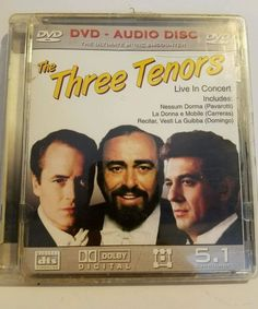 The Three Tenors - Live In Concert DVD CD 2004 Movie and CD | DVDs & Movies, DVDs & Blu-ray Discs | eBay!