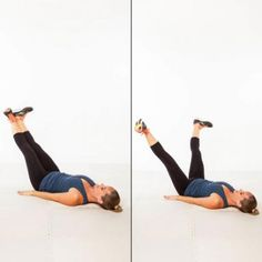 Inner Thigh Circles - The Best Lower-Body Exercises for a Knee Injury - Shape Magazine
