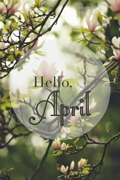 ❋ Hello April