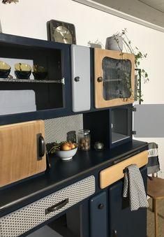 """6 x antique rétro /""""d/"""" style fonte poitrine armoire de cuisine supérieure /& cabine tiroir"""