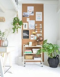 16 make a cork pinboard for your home office - DigsDigs
